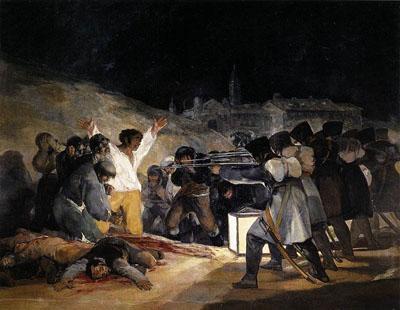 Los fusilamientos del 3 de mayo (1814), de Goya