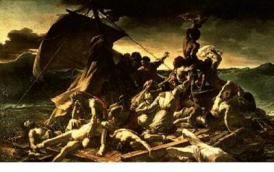 La balsa de Medusa (1829), de Gericault