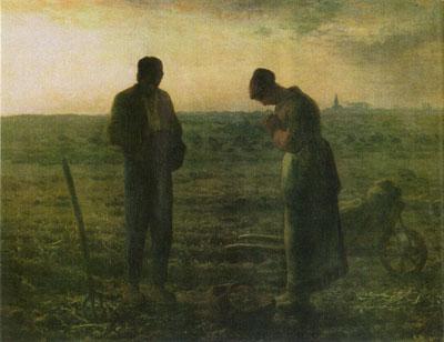 El ángelus (1857), de  François Millet
