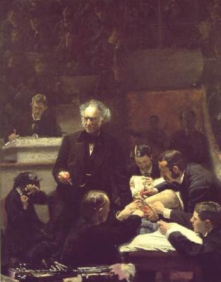 La clínica Gross (1875), de Thomas Eakins