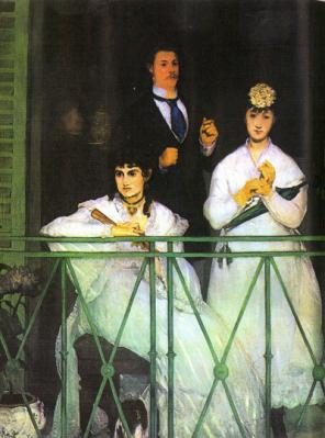 El balcón (1868), de Manet
