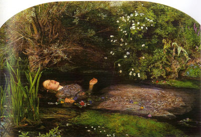 Ofelia (1852), de John Everest Millais