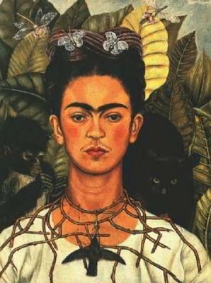 Autorretrato de Frida Khalo