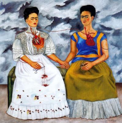 Las dos Fridas (1939), de Frida Khalo