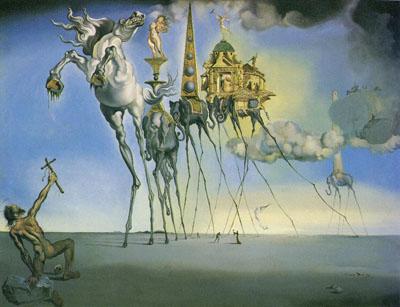 La tentación de San Antonio (1946), de Salvador Dalí