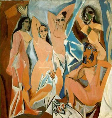 Las señoritas de Avignon (1909), de Pablo Picasso