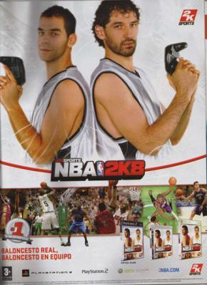 Baloncesto real, baloncesto en equipo. Hobby consolas