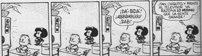 Mafalda: los niños y la televisión.