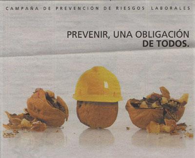 Prevenir, una obligación de todos.