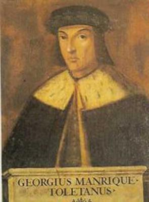 Jorge Manrique  (Paredes de Nava, Palencia, ¿1440? - Santa María del Campo, Cuenca, 1479)