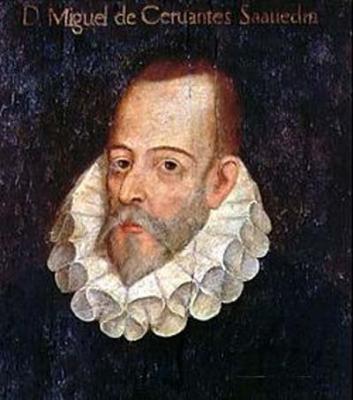 Miguel de Cervantes (Alcalá de Henares, 1547-  Madrid, 1616)