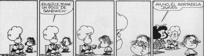 La descripción en Mafalda