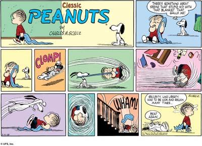 ¿Qué sucede en esta tira de Snoopy?