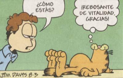¿Qué opinas de Garfield?