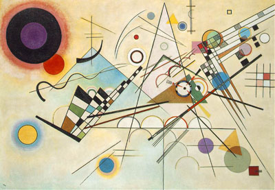 Composición VIII (1923), de W. Kandinsky