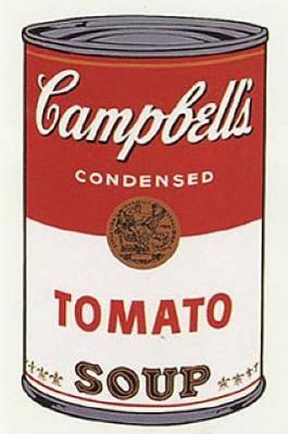 Sopa de tomate (1962), Andy Warhol