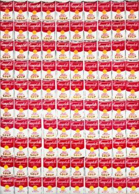 Cien latas (1963), de Andy Warhol