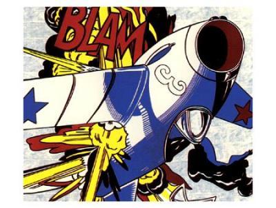Blam (1962), de Roy Lichtenstein