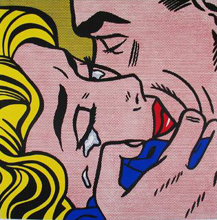 The Kiss IV (1962), de Roy Lichtenstein