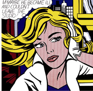 Maybe (1965), de Roy Lichtenstein