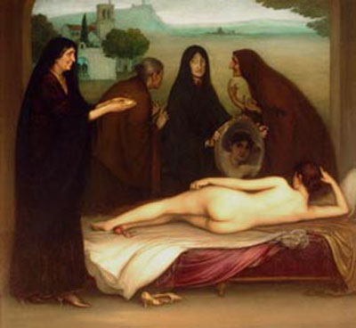 El pecado (1913), de Julio Romero de Torres