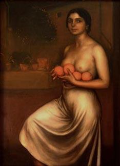 Naranjas y limones (1927), de Julio Romero de Torres
