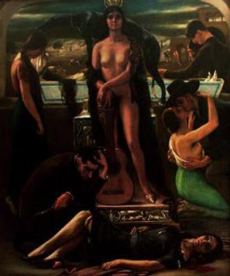 El cante hondo (1929), de Julio Romero de Torres